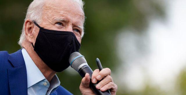Demokraternas kandidat Joe Biden. Patrick Semansky / TT NYHETSBYRÅN