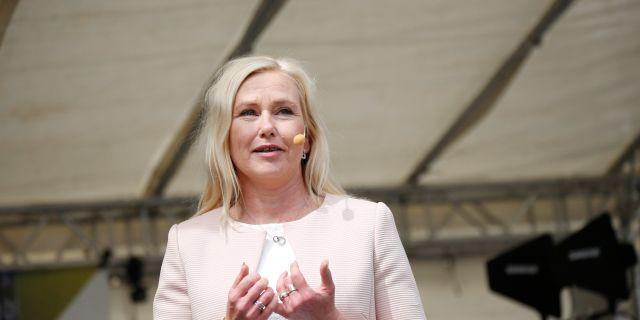 Anna Johansson (S). Christine Olsson/TT / TT NYHETSBYRÅN