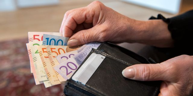 Kommunalskatten högre i dag jämfört med för 25 år sedan  Henrik Montgomery/TT / TT NYHETSBYRÅN