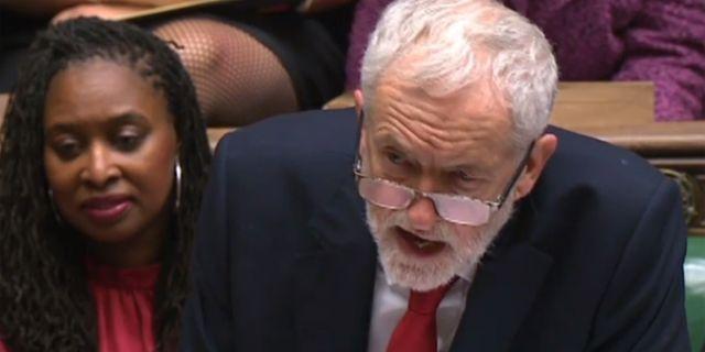 Jeremy Corbyn.  HO / PRU