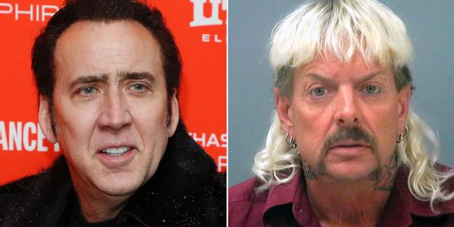 Nicolas Cage och Joe Exotic  TT