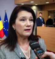 Ann Linde (S), utrikeshandelsminister.  Wiktor Nummelin/TT / TT NYHETSBYRÅN