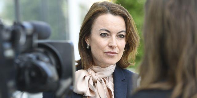 Försvarsadvokaten Hanna Lindblom. Henrik Montgomery/TT / TT NYHETSBYRÅN