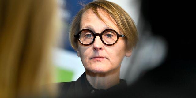 Annika Sundén Claudio Bresciani/TT / TT NYHETSBYRÅN