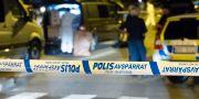 Polisens tekniker i Rosengård. Johan Nilsson/TT / TT NYHETSBYRÅN