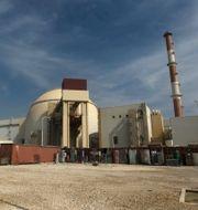 Reaktoranläggningen i Bushehr. Majid Asgaripour / TT NYHETSBYRÅN