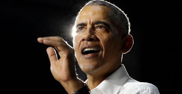 Barack Obama. Lynne Sladky / TT NYHETSBYRÅN