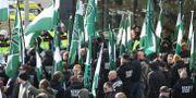 NMR-anhängare under demonstrationen i Göteborg 30 september 2017. Adam Ihse/TT / TT NYHETSBYRÅN