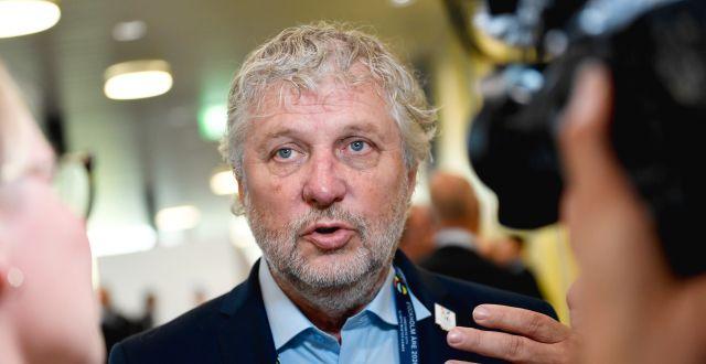 Biståndsminister Peter Eriksson (MP). Stina Stjernkvist/TT / TT NYHETSBYRÅN