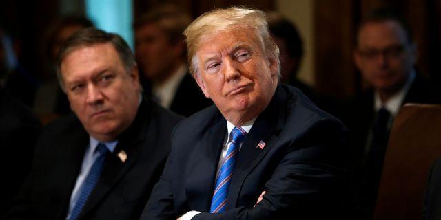 Donald Trump.  Leah Millis / TT NYHETSBYRÅN