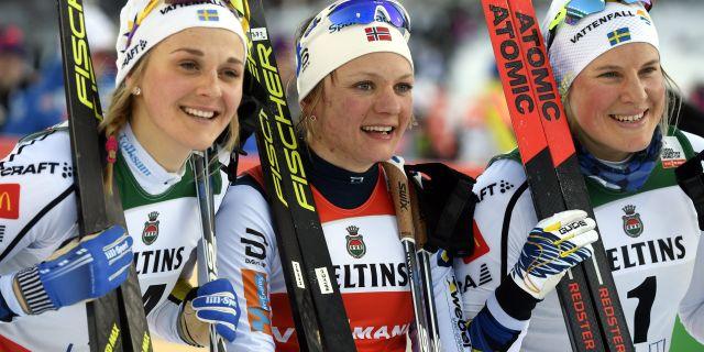 Stina Nilsson, Falla och Hanna Falk Markku Ulander / TT / NTB Scanpix