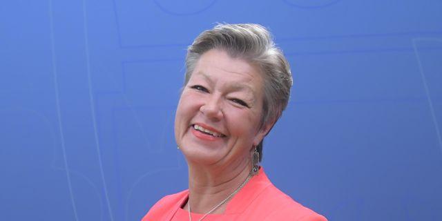 Ylva Johansson (S). Maja Suslin/TT / TT NYHETSBYRÅN