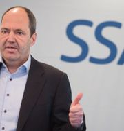 Martin Lindqvist, koncernchef på SSAB Fredrik Sandberg/TT / TT NYHETSBYRÅN