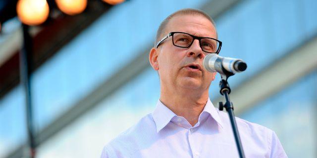 Benny Fredriksson. HENRIK MONTGOMERY / TT / TT NYHETSBYRÅN