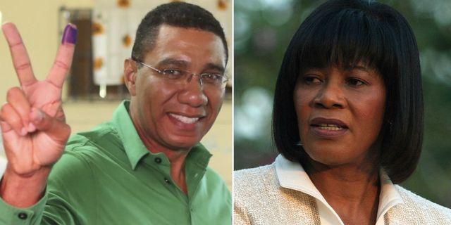 Jamaica regeringspartiet kvar