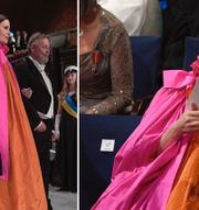 Sara Danius vid Nobelprisutdelningen i Konserthuset i Stockholm. TT