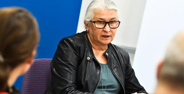 Elda Sparrelid, chefsläkare i Region Stockholm Claudio Bresciani / TT / TT NYHETSBYRÅN