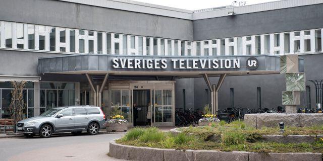 SVT-huset i Stockholm Jessica Gow/TT / TT NYHETSBYRÅN
