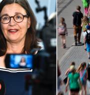 Utbildningsminister Anna Ekström (S). TT