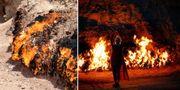 Azerbajdzjan kallas den heliga eldens land. När man ser Yanar Dag förstår man varför. Getty / Tripadvisor