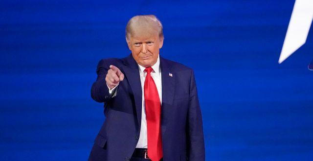 Arkivbild. Donald Trump.  John Raoux / TT NYHETSBYRÅN