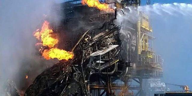Oljeplattform evakueras efter lacka