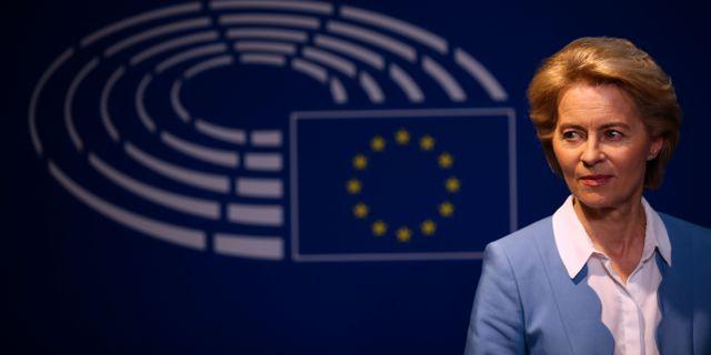 Ursula von der Leyen, tillträdande ordförande för EU-kommissionen.  Francisco Seco / TT NYHETSBYRÅN/ NTB Scanpix