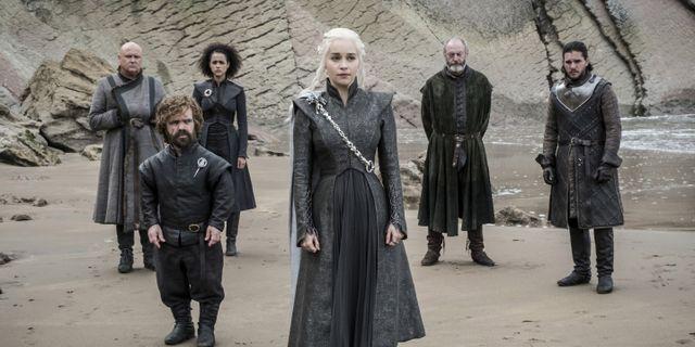 Från tv-serien Game of Thrones.  TT NYHETSBYRÅN