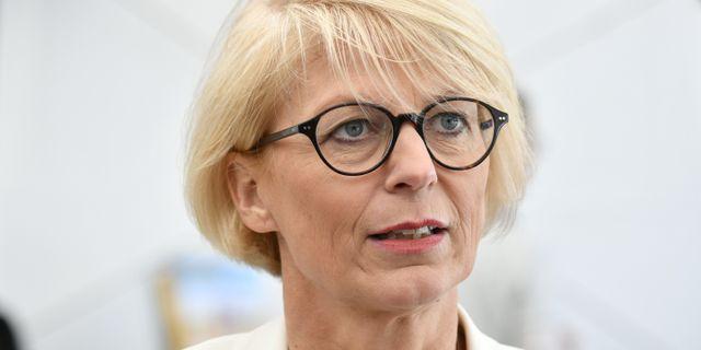 Arkivbild: Elisabeth Svantesson, ekonomisk-politisk talesperson för Moderaterna.  Vilhelm Stokstad/TT / TT NYHETSBYRÅN