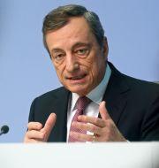 Mario Draghi. RALPH ORLOWSKI / TT NYHETSBYRÅN