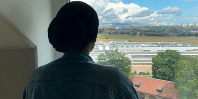 Kvinnan som intervjuats av P3 Nyheter Palmira Koukkari Mbenga/Sveriges Radio
