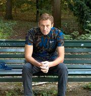Aleksej Navalnyj den 23 september. TT NYHETSBYRÅN