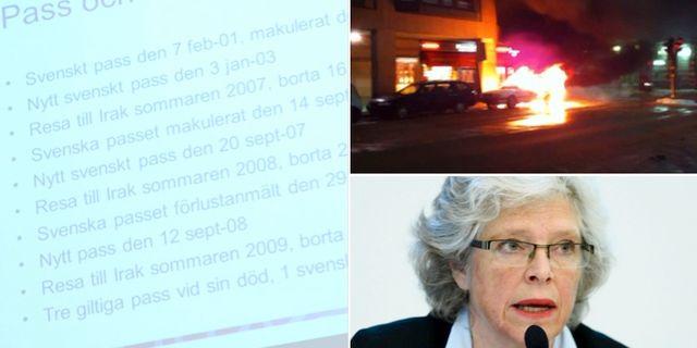 Abdulwahabs resor / Övervakningsfilm från sprängdådet / Agnetha Hilding Qvarnström TT