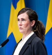 Miljöpartiets Märta Stenevi.  Jessica Gow/TT / TT NYHETSBYRÅN