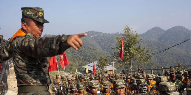 Vapenvila med rebeller i burma