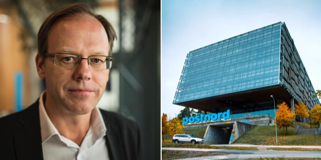 Håkan Ericsson, vd Postnord. Postnords huvudkontor i Solna.  TT