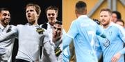 AIK möter MFF.  Bildbyrån.