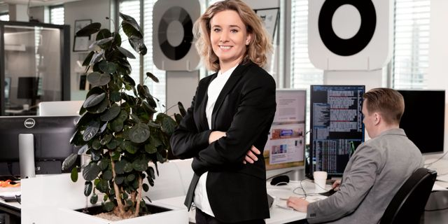 Karin Fries, fondförvaltare Magnus Sandberg