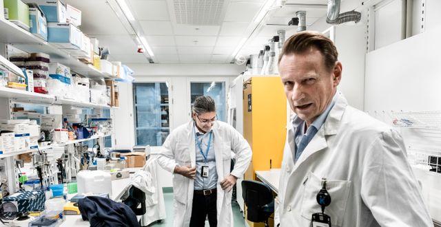Matti Sällberg till höger. Magnus Hjalmarson Neideman/SvD/TT / TT NYHETSBYRÅN