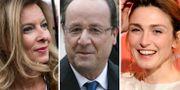 Trierweiler, Hollande och Gayet.