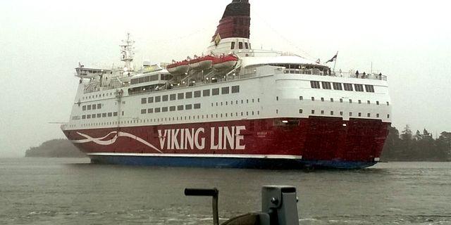 Viking Line ställer in flera avgångar. Rajavartiolaitos / TT / NTB Scanpix