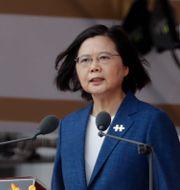 Tsai Ing-Wen Chiang Ying-ying / TT NYHETSBYRÅN