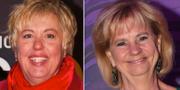 """Suzanne Axell, programledare för """"Fråga doktorn"""" och tidigare SVT-profilen Marianne Rundström. TT"""