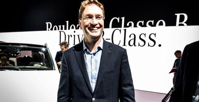 Daimlers vd Ola Källenius. Arkivbild. Magnus Hjalmarson Neideman/SvD/TT / TT NYHETSBYRÅN