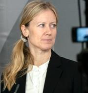 Kristine Rygge och Leif GW Persson. TT