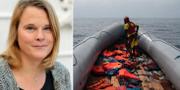 Pia Berglund.  Svensk sjöfart / TT