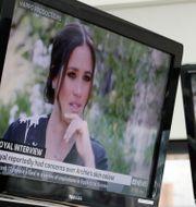 Meghan Markle pratade om rasism inom kungahuset i intervjun med Oprah.  Rick Rycroft / TT NYHETSBYRÅN
