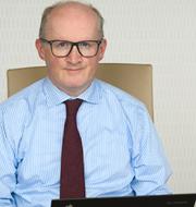 ECB:s chefekonom Philip Lane under utfrågningen.  ECB.