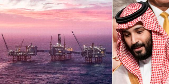 Saudiarabiens kronprins Mohammad bin Salman. Kevin Lamarque / TT  & CARINA JOHANSEN / NTB
