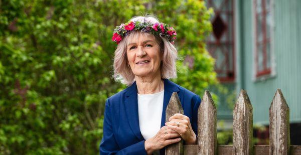 """Gunhild """"Ninis"""" Rosqvist.  Mattias Ahlm/Sveriges Radio"""